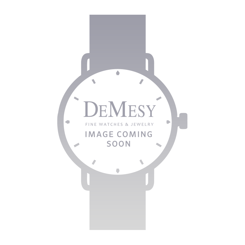 DeMesy Style: 52267 Ladies Vintage 18K & Diamond Gubelin Watch Silver Dial